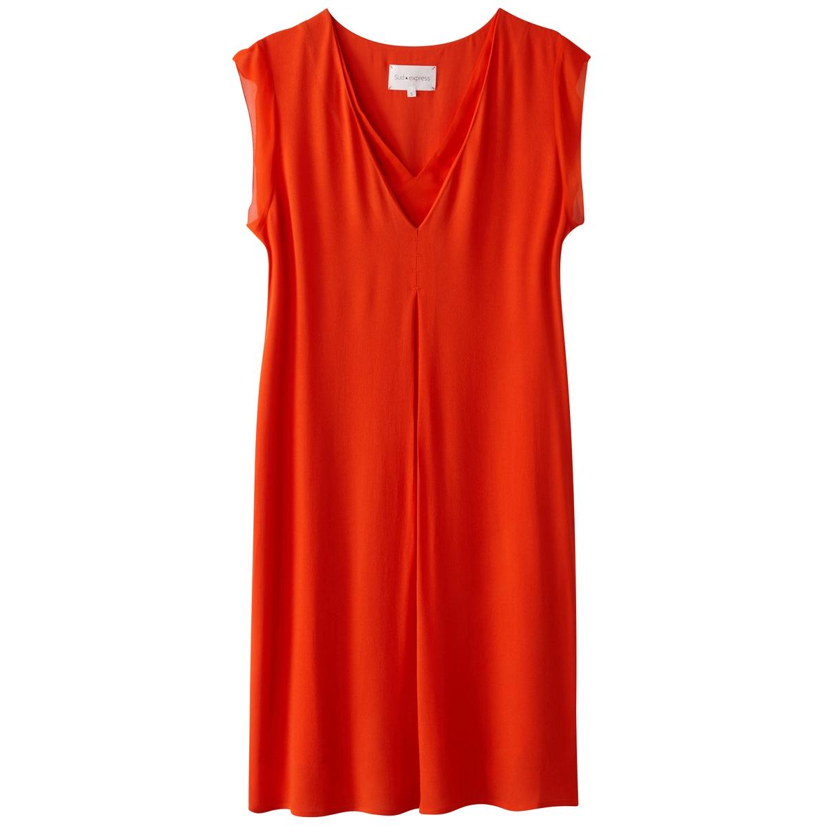 Платье прямое с короткими рукавами с воланамиМатериал : 100% вискоза   Длина рукава : короткие рукава   Форма воротника : V-образный вырез  Покрой платья : платье прямого покроя     Рисунок : однотонная модель   Особенность платья : волан  Длина платья : до колен<br><br>Цвет: коралловый,темно-синий<br>Размер: XS.S