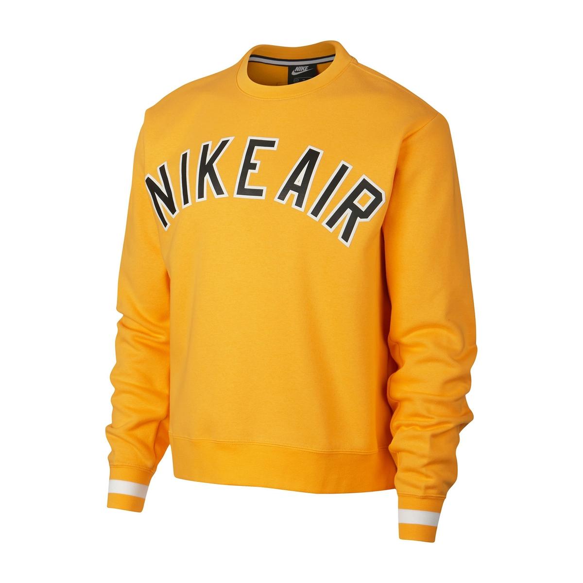 Sudadera estampada con cuello redondo Nike Air