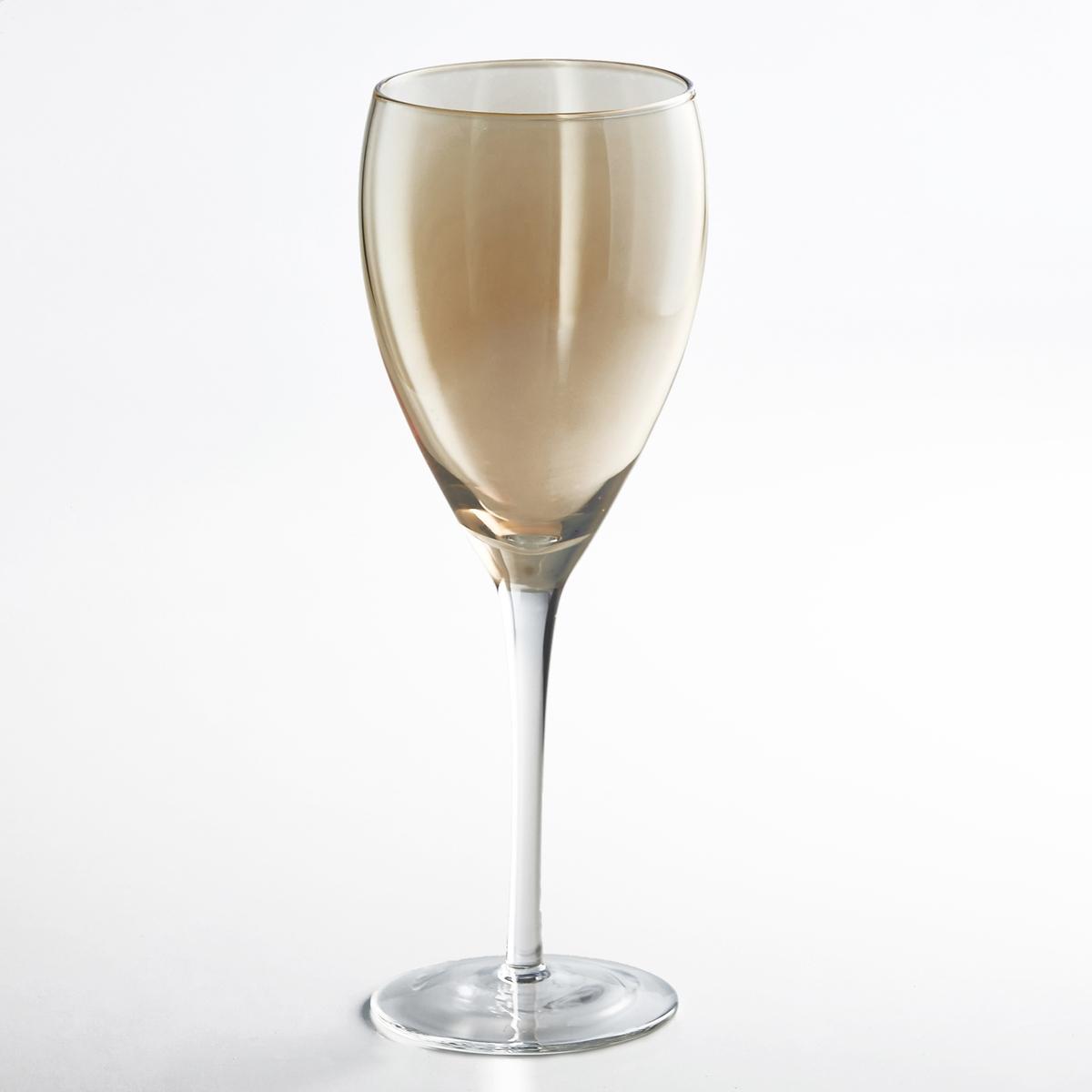 4 бокала для красного вина , KoutineХарактеристики бокалов под вино Koutine :- Бокал для красного вина из стекла, выдуваемого с помощью рта - Диаметр : 9 см- Высота : 24,5 см  - Подходят для посудомоечной машины- В комплекте 4 бокала найдите всю коллекцию бокалов на нашем сайте   laredoute.ru<br><br>Цвет: дымчато-серый,янтарь