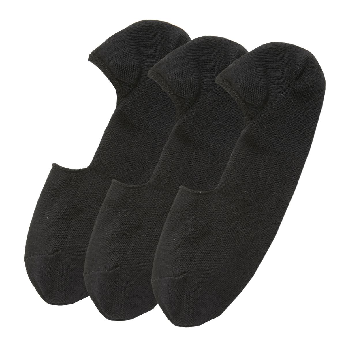 Lote de 3 pares de calcetines invisibles