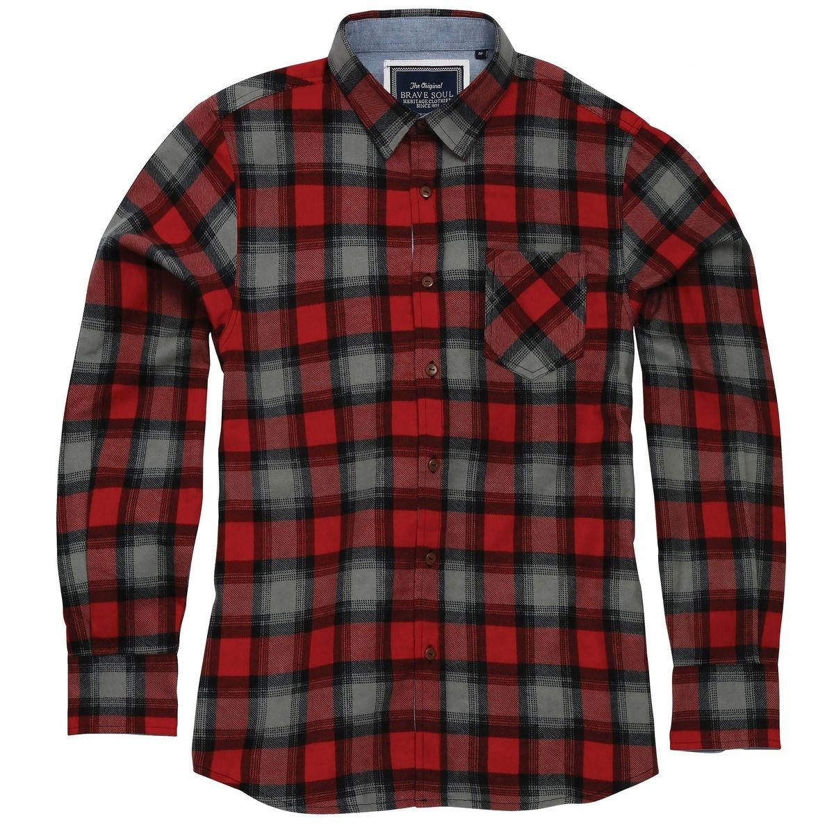 Chemise à carreaux GARVEY