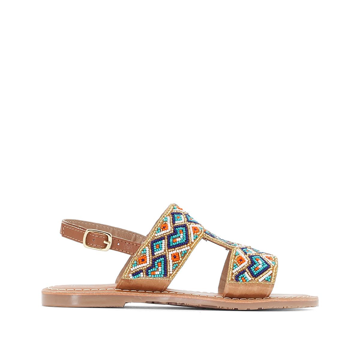 Sandálias com pérolas, do 26 ao 39
