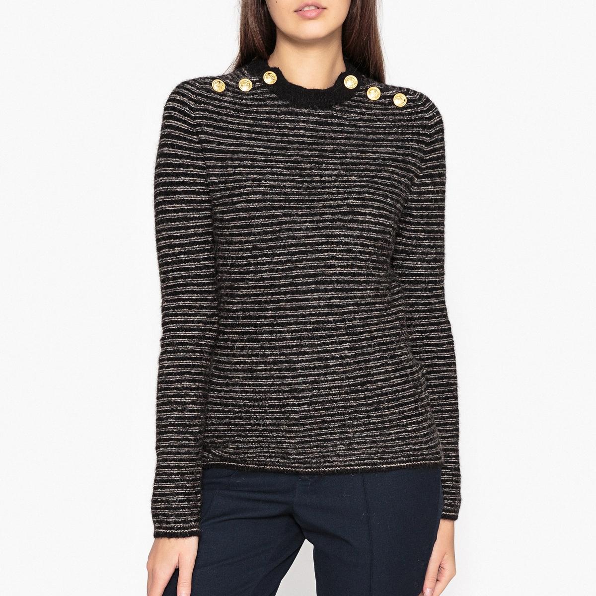 купить Пуловер в полоску MONDY дешево