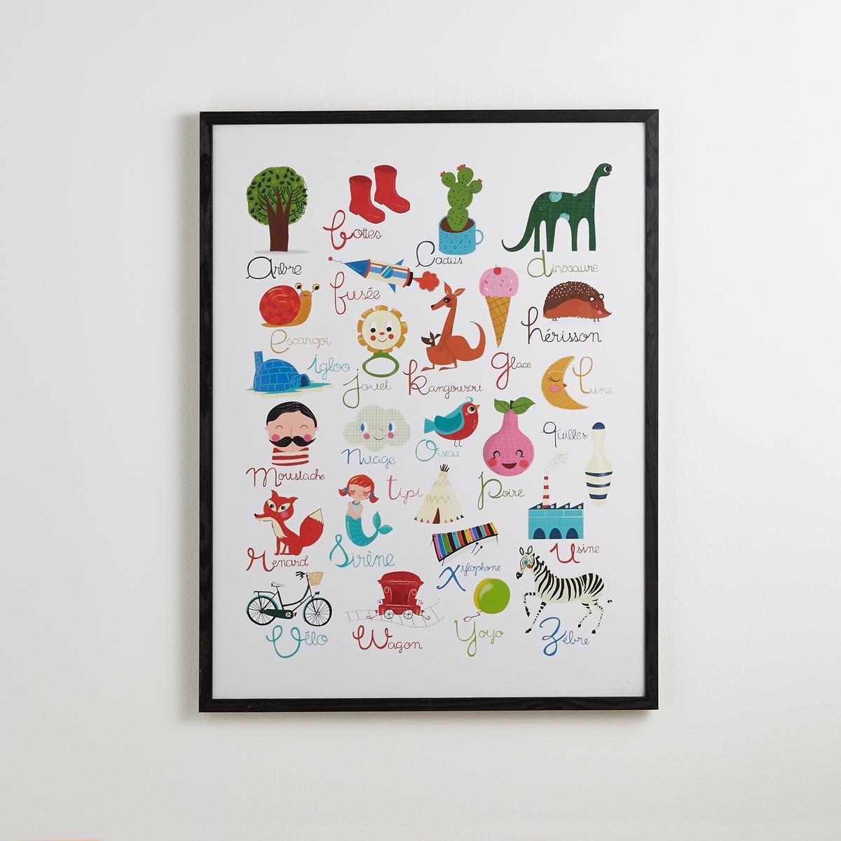 Постер-алфавит Piao