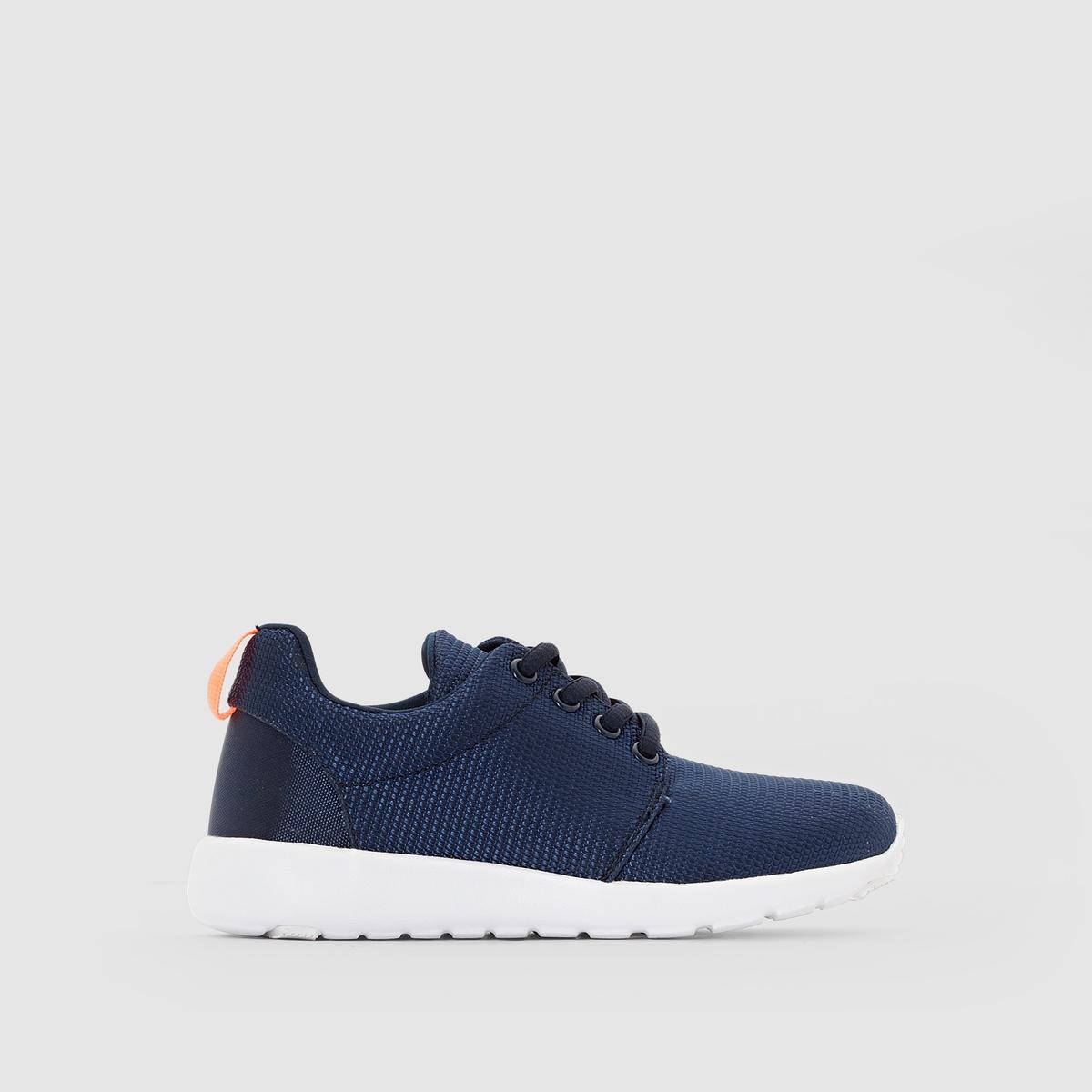 Кеды низкие в стиле runningКрасивая линейка обуви running в модных тенденциях и с очень стильными мотивам: кеды, который придутся по вкусу как детям, так и взрослым!<br><br>Цвет: синий морской