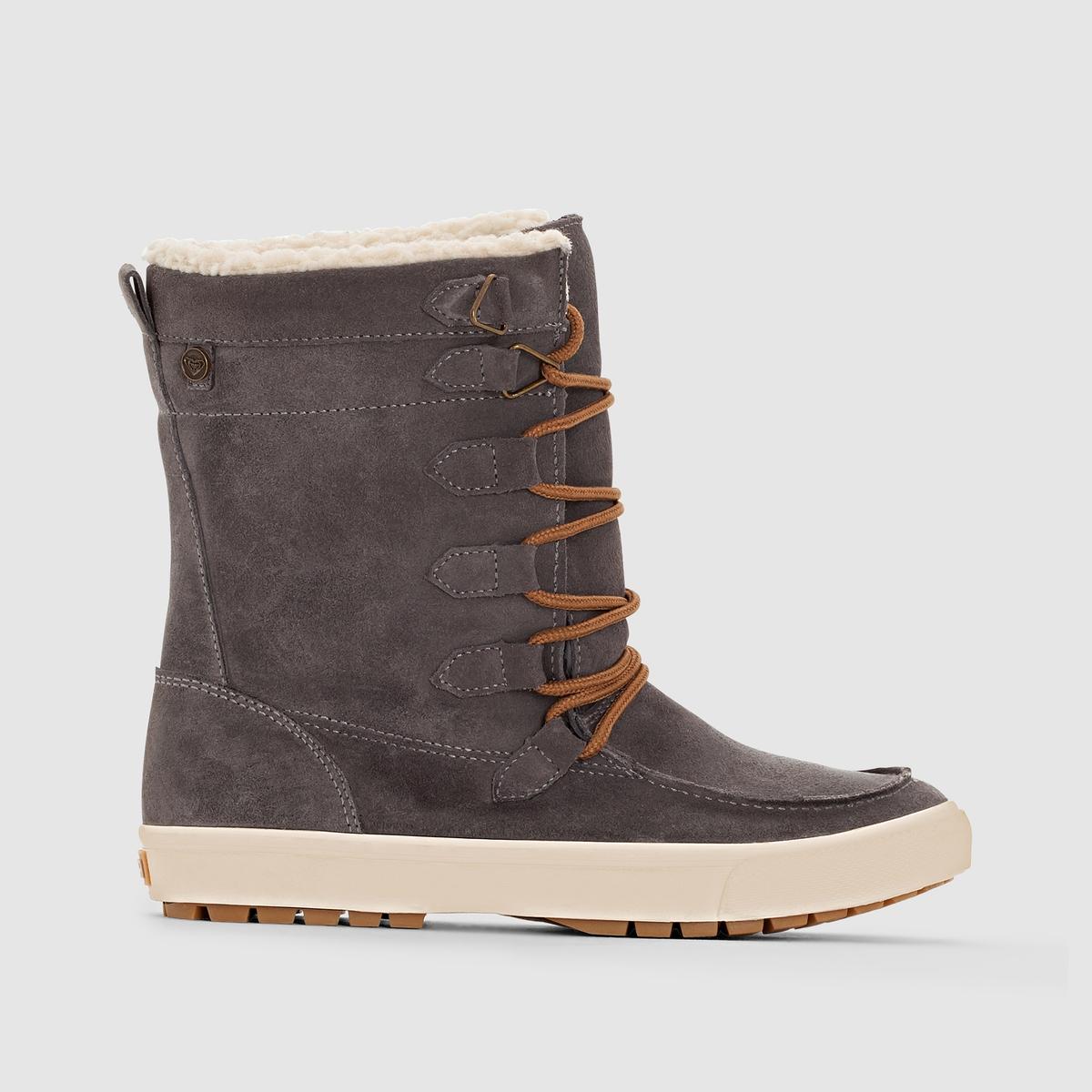 Сапоги из кожи ROXY SALZBURG J BOOT CHR ботинки roxy timber j boot brn