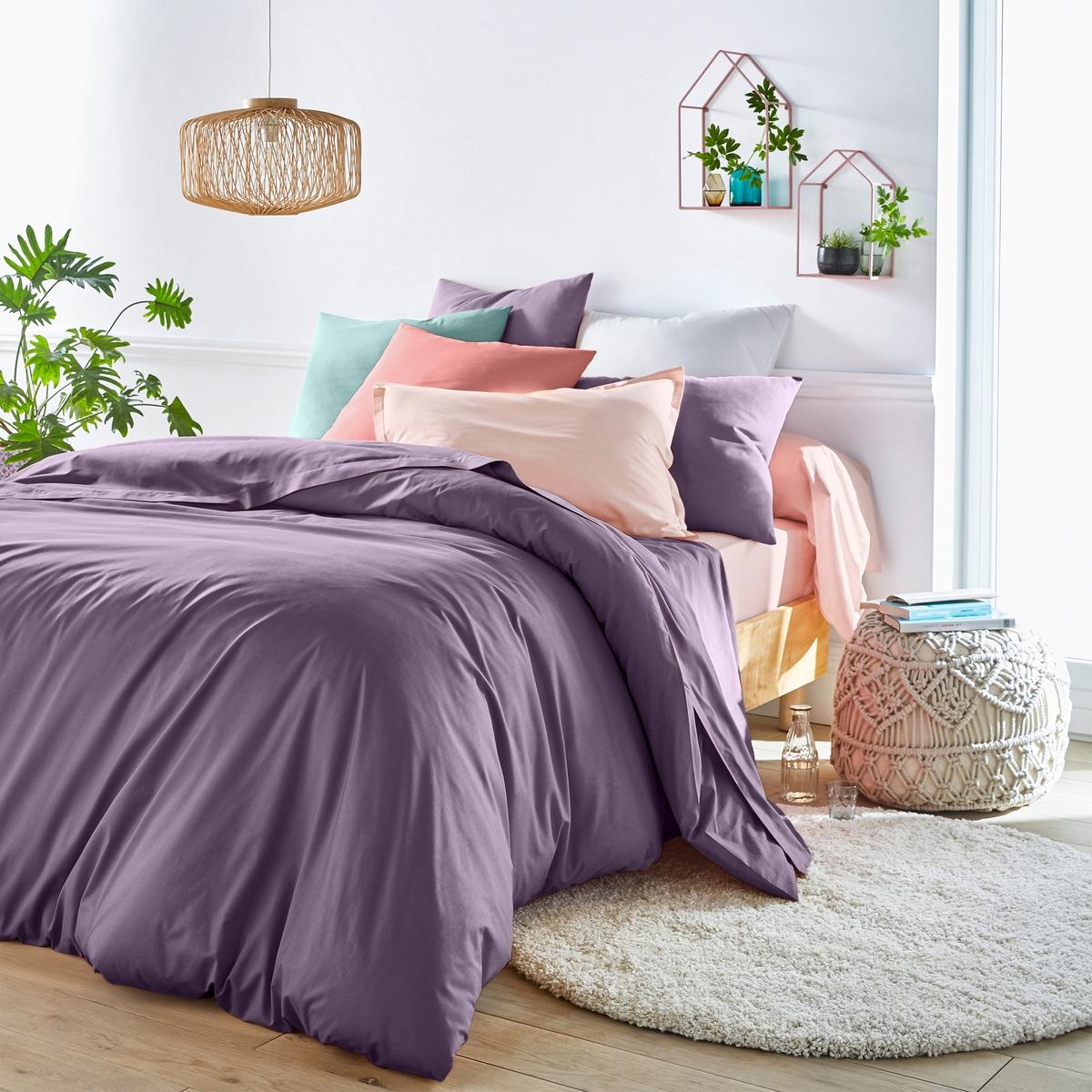 Простыня натяжная для раздельных матрасовНатяжная простыня для 2-спальной кровати с матрасами с независимыми частями для головы и ног. Для общего комфорта натяжная простыня соединяется в центре без швов.Характеристики натяжной простыни из хлопка для раздельных матрасов :100% хлопок, очень мягкий и комфортный, плотное переплетение нитей, 57 нитей/см? : чем больше количество нитей/см?, тем выше качество.Клапан 25 см (для матрасов шириной до 23 см).Отличная стойкость цвета при стирке при 60 °С.Созданная для матрасов с возможностью поднимания частей для головы и ног, эта натяжная простыня Sc?nario из хлопка отличается оригинальной гаммой очень модных цветов.                                                 Откройте для себя всю коллекцию постельного белья на сайте laredoute.ru.                                                                                                                                                                  Знак Oeko-Tex® гарантирует, что товары протестированы и сертифицированы, не содержат вредных веществ, которые могли бы нанести вред здоровью.                                                                                                                                                                                                                                            Размеры: ??140 x 190 см : 2-спальн.?160 x 200 см: 2-спальн.180 x 200 см: ?2-спальн.<br><br>Цвет: антрацит,белый,бледный сине-зеленый,бордовый,вишневый,голубой бирюзовый,желтый горчичный,зеленый,нежно-розовый,розовое дерево,светло-бежевый,серо-коричневый каштан,Серо-синий,серый жемчужный,сине-зеленый,смородиновый,темно-серый,фиолетовый,черный<br>Размер: 160 x 200  см
