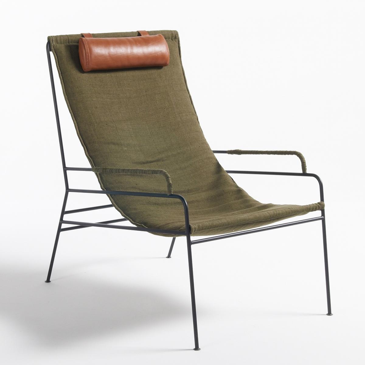Кресло Celchar из стиранного льна