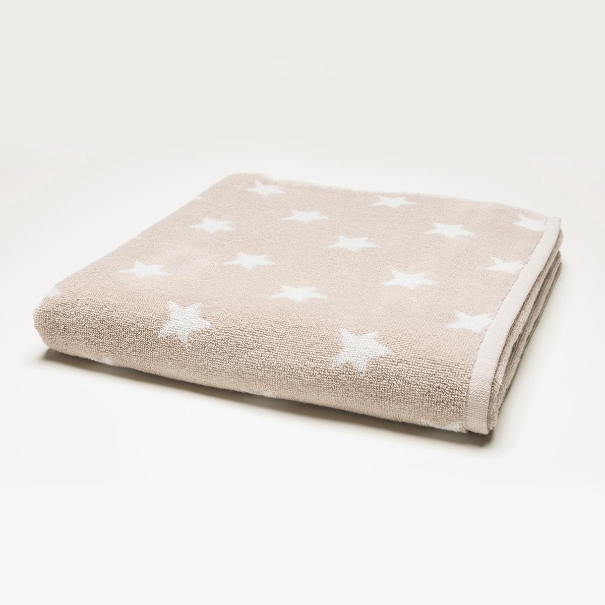 Полотенце Stars 100% хлопка .Полотенце Stars 100% хлопка, высокого качества для абсолютного комфорта  .Описание полотенца Stars :Рисунок : звездыХарактеристики полотенца Stars :Материал : 100% хлопкового жаккарда 450 г/м? Уход : машинная стирка при 60°CРазмеры полотенца Stars  :50 x 100 см<br><br>Цвет: серо-бежевый/белый