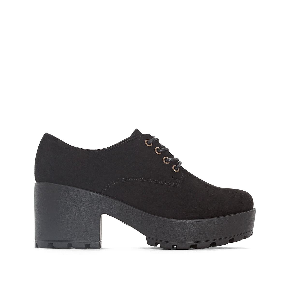 Ботинки-дерби на каблуке Cruise
