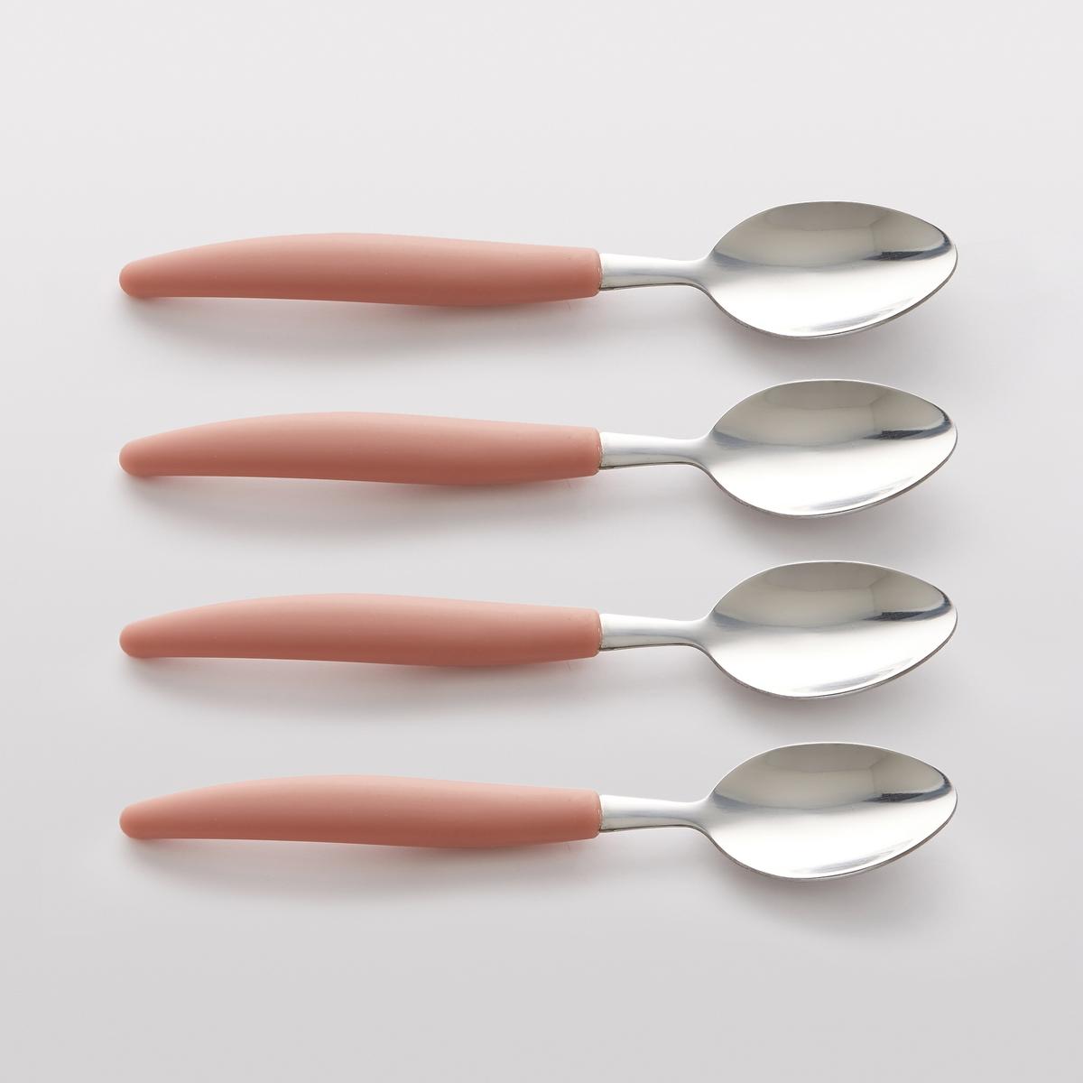 Комплект из суповых ложек La Redoute FORKESTER единый размер розовый комплект из стаканов из la redoute бамбукового волокна boja единый размер розовый