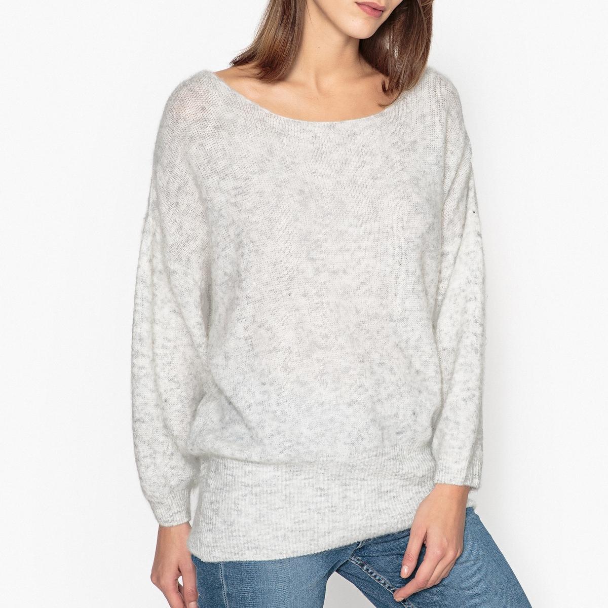 Пуловер с вырезом-лодочкой  WOXILEN