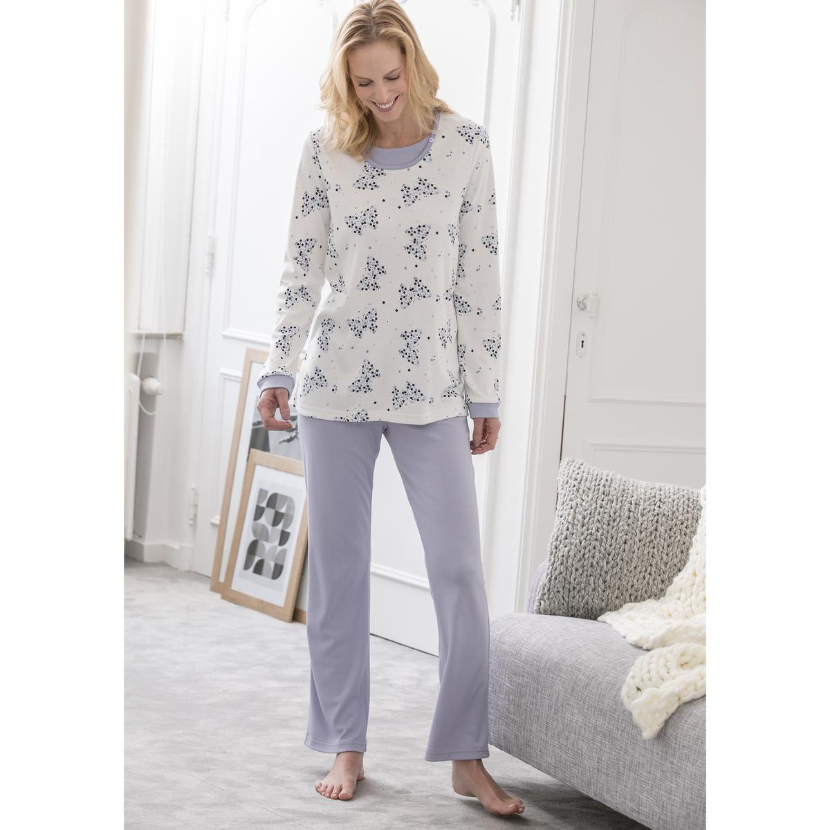 Пижама с длинными рукавами thermolactyl® пижамы пижамы пижамы пижамы женские пижамы женская пижама женская пижама женская b541102112 5