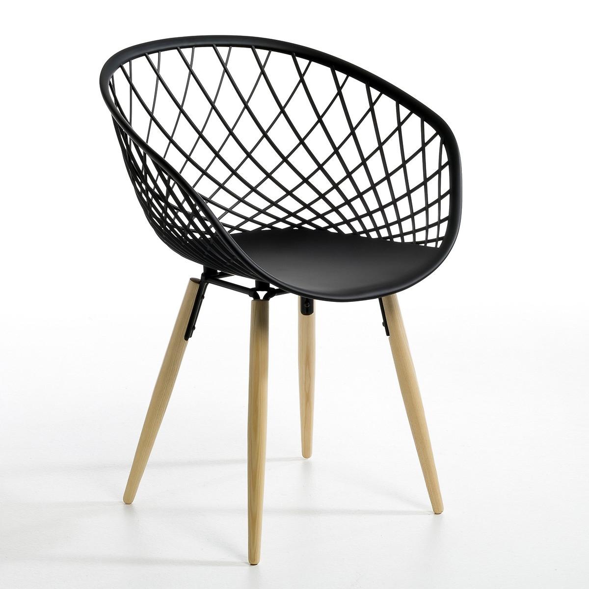 Кресло LaRedoute Офисное Camo единый размер черный 3 картины laredoute wekoso единый размер черный