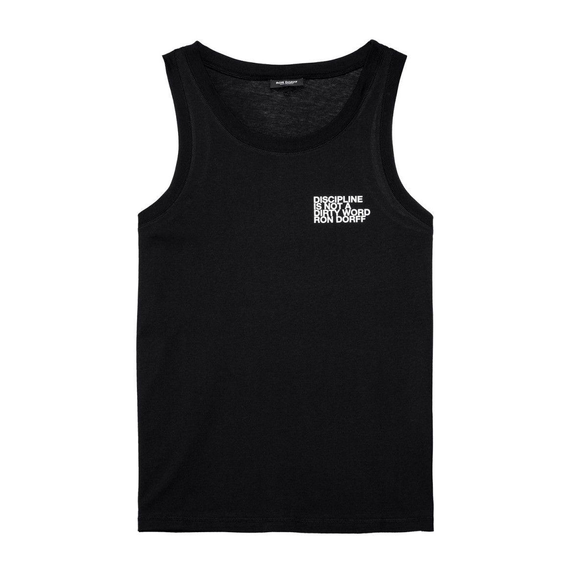 T-shirt de fitness/training TANK TOP DISCIPLINE SMALL PRINT