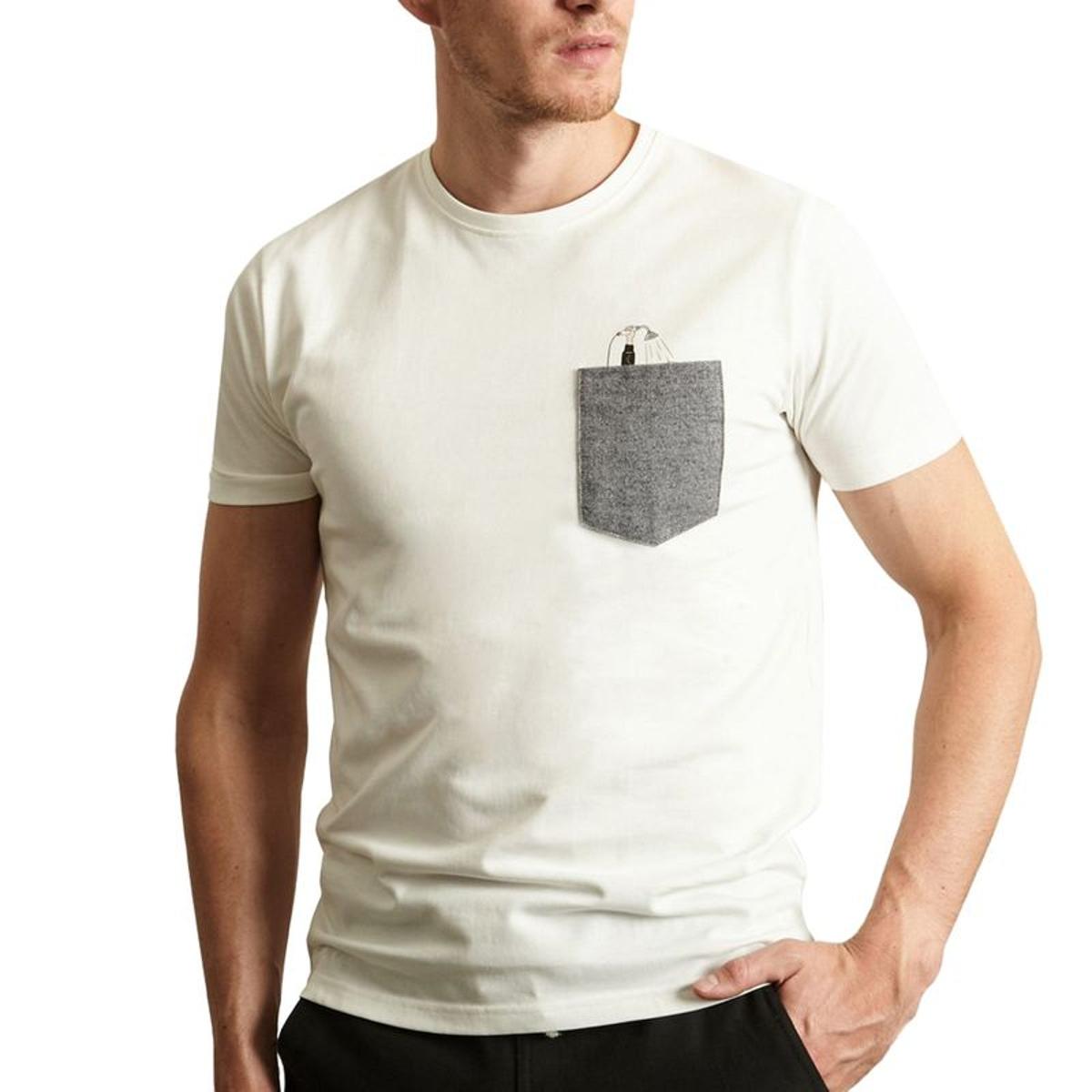 T-Shirt Drunk en Coton Biologique