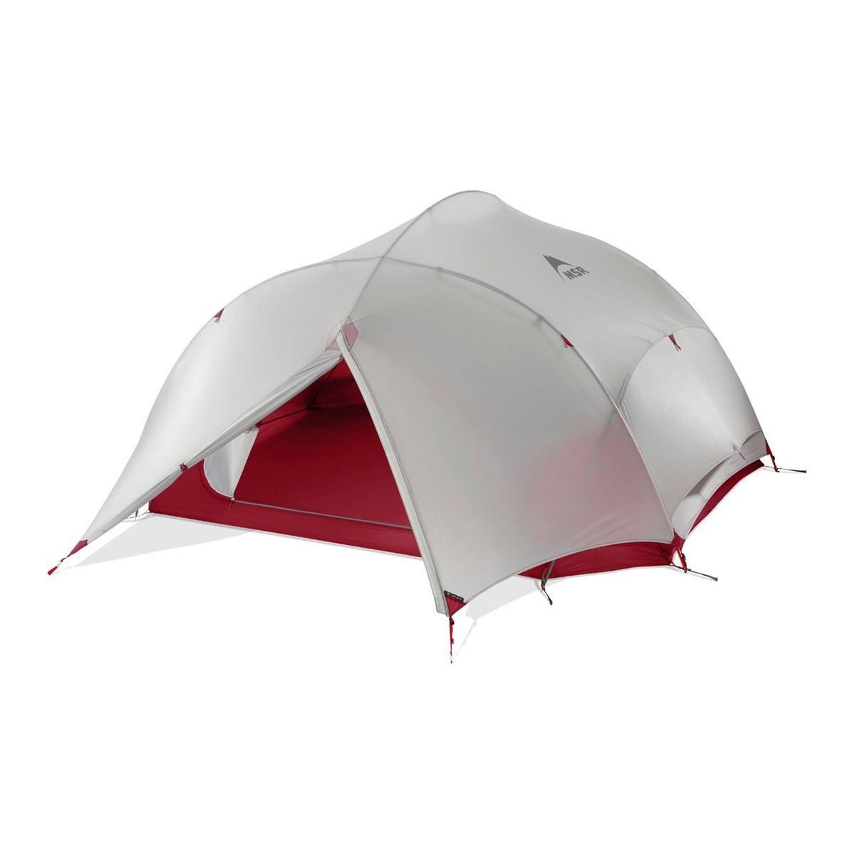 Papa Hubba NX - Tente - gris/rouge