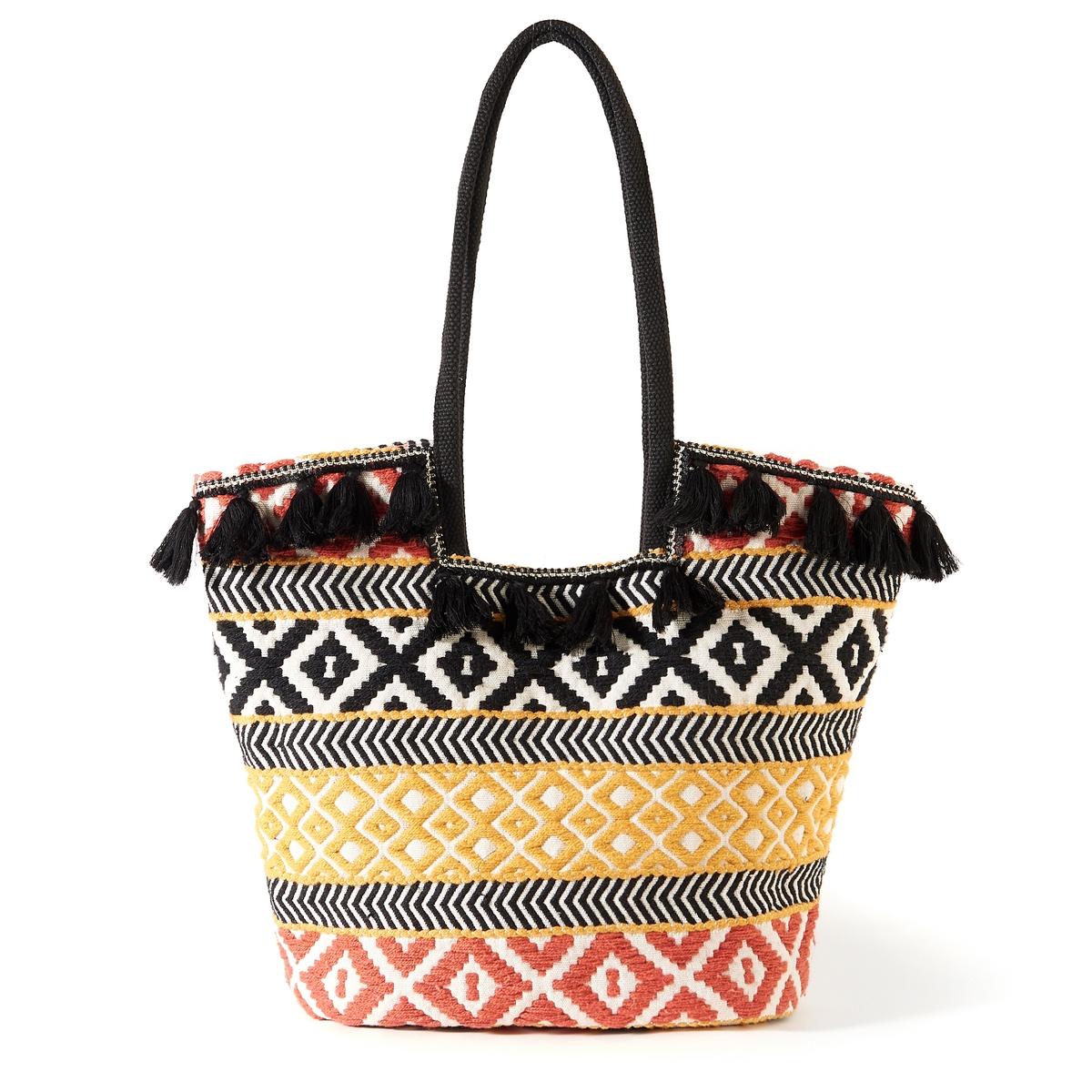 Сумка-шоппер в этническом стиле