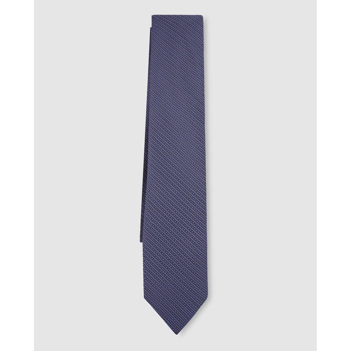 Cravate en polyester rayée