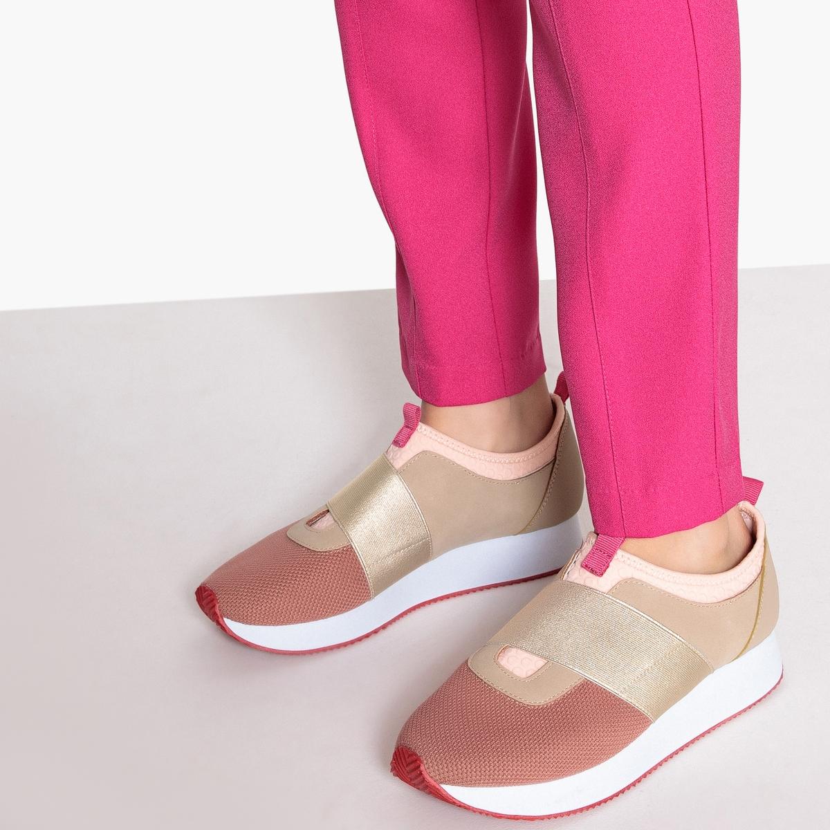 Zapatillas deportivas ultraligeras con detalle elástico