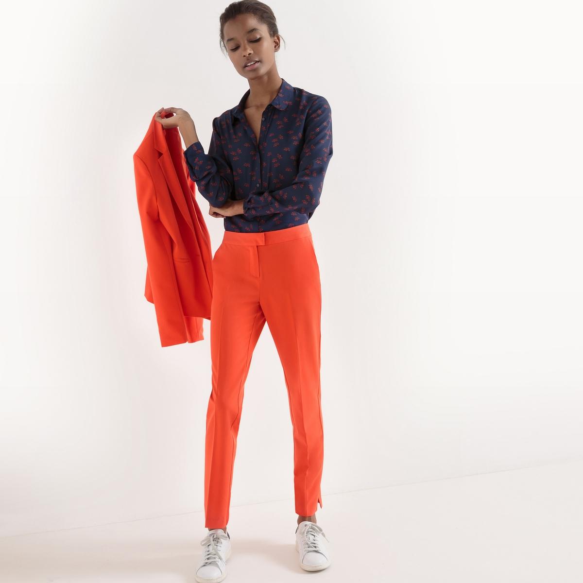 Рубашка прямого покроя из полиэстераДетали  •  Длинные рукава •  Прямой покрой •  Рубашечный воротник-поло •  Рисунок-принтСостав и уход •  100% полиэстер •  Машинная стирка при температуре 30° •  Сухая чистка и отбеливание запрещены   •  Не использовать барабанную сушку  •  Низкая температура глажки<br><br>Цвет: набивной рисунок<br>Размер: 42 (FR) - 48 (RUS)
