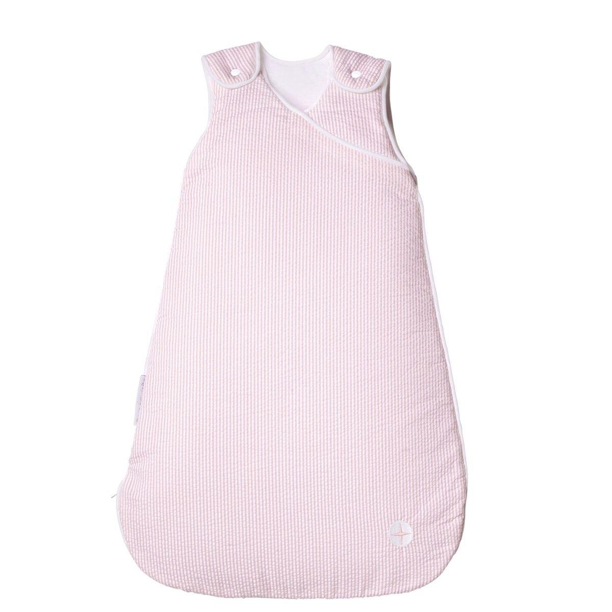 Gigoteuse rose pale coton pour toute lannee 17 et 21 degrés