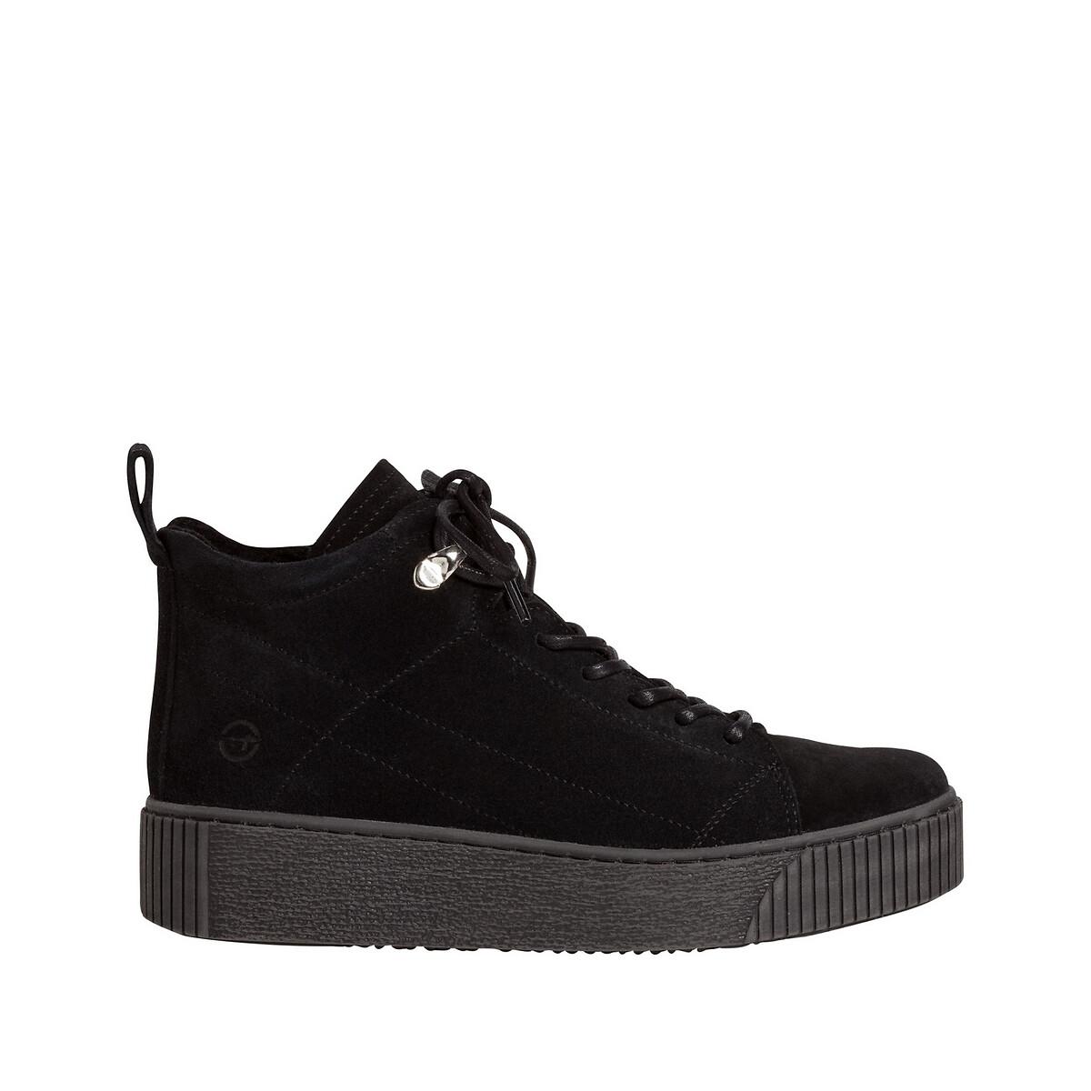 Ботинки La Redoute Из кожи Pieces 39 черный