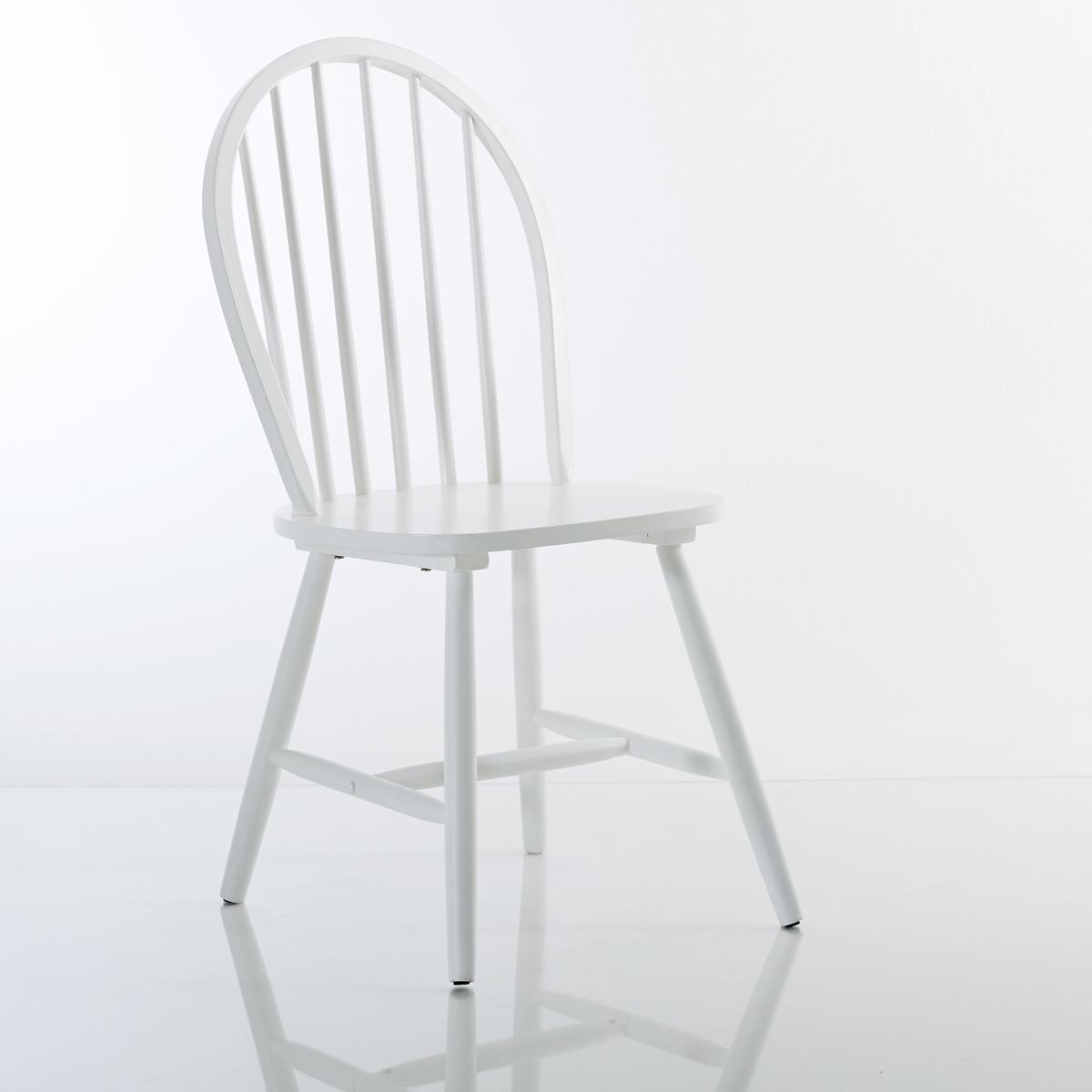 2 стула с решеткой из массива бука, WindsorОписание 2 стульев, Windsor  :Спинка с решеткой .Цельное сиденье .Описание 2 стульев, Windsor :Из натурального массива гельвеи с НЦ-лакировкой.Размеры стула, Windsor :Ширина : 45,8 см .Высота : 94 см.Глубина : 50,9 см .Сиденье : 44,5 x 45 x 42,8 см .Размеры и вес ящика : 2 стула с 1 ящиком  59 x 50 x 45 см 12,7 кг Доставка :Стулья Windsor продаются готовыми к сборке . Доставка до вашей квартиры  !Внимание   ! Убедитесь, что посылку возможно доставить на дом, учитывая ее габариты .<br><br>Цвет: белый,бирюзовый,серо-бежевый,черный