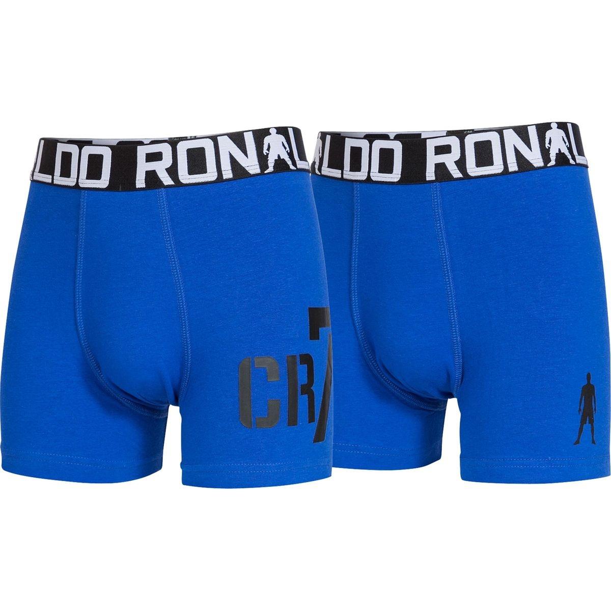 CR7 CRISTIANO RONALDO Caleçon Boys Trunk Lot de 2