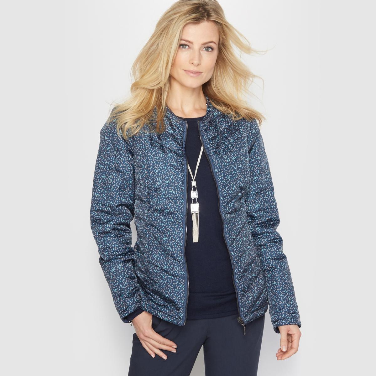 Куртка стёганая лёгкая, двусторонняя, обработанная тефлоном