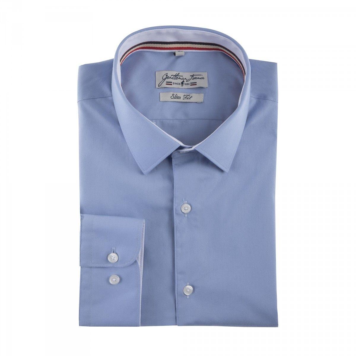 Chemises col semi italien CLINT