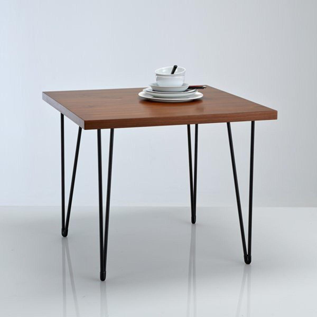 La Redoute Interieurs Table de repas carrée, esprit vintage, Watford 9c2e7708d6c9