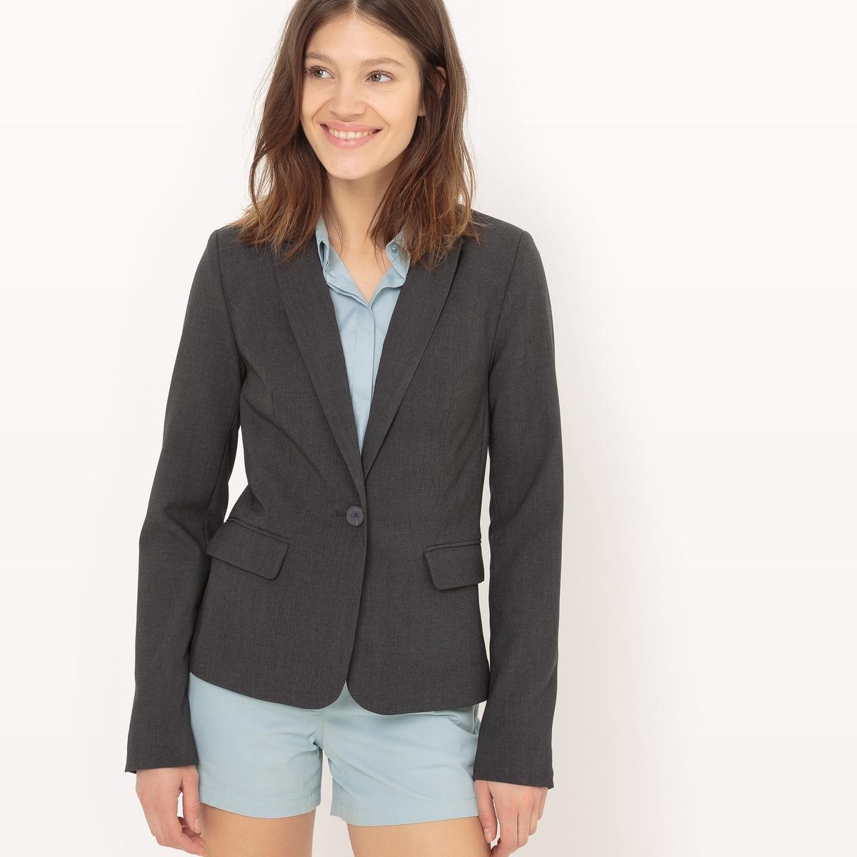 Пиджак костюмный, длина 65 см
