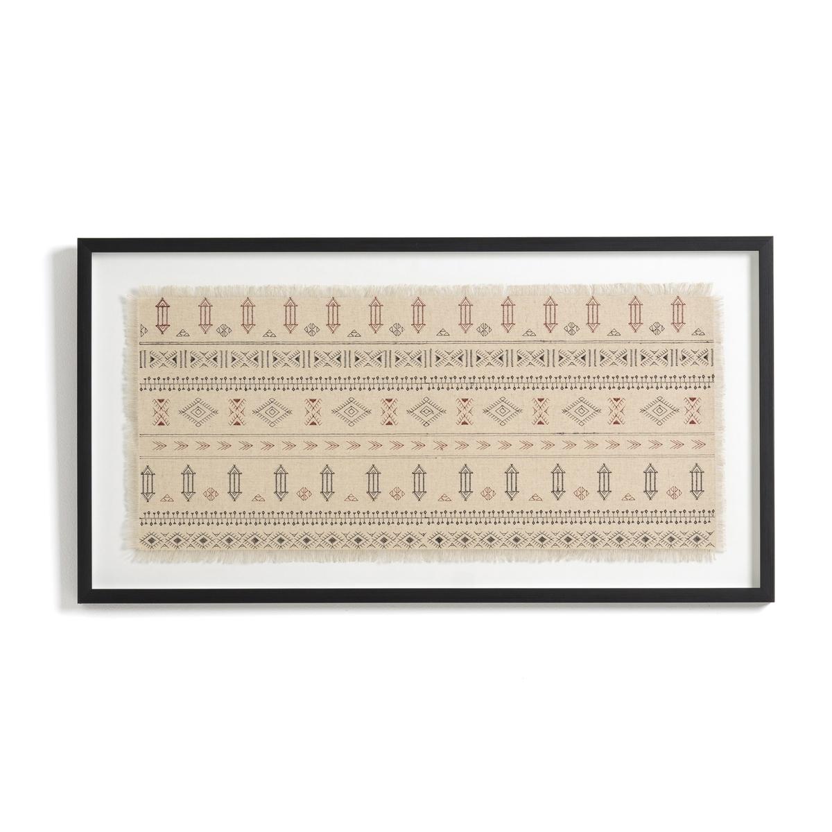 Украшение La Redoute Настенное в берберском стиле Thora модель единый размер бежевый ковер la redoute в берберском стиле из шерсти tekouma 120 x 180 см бежевый