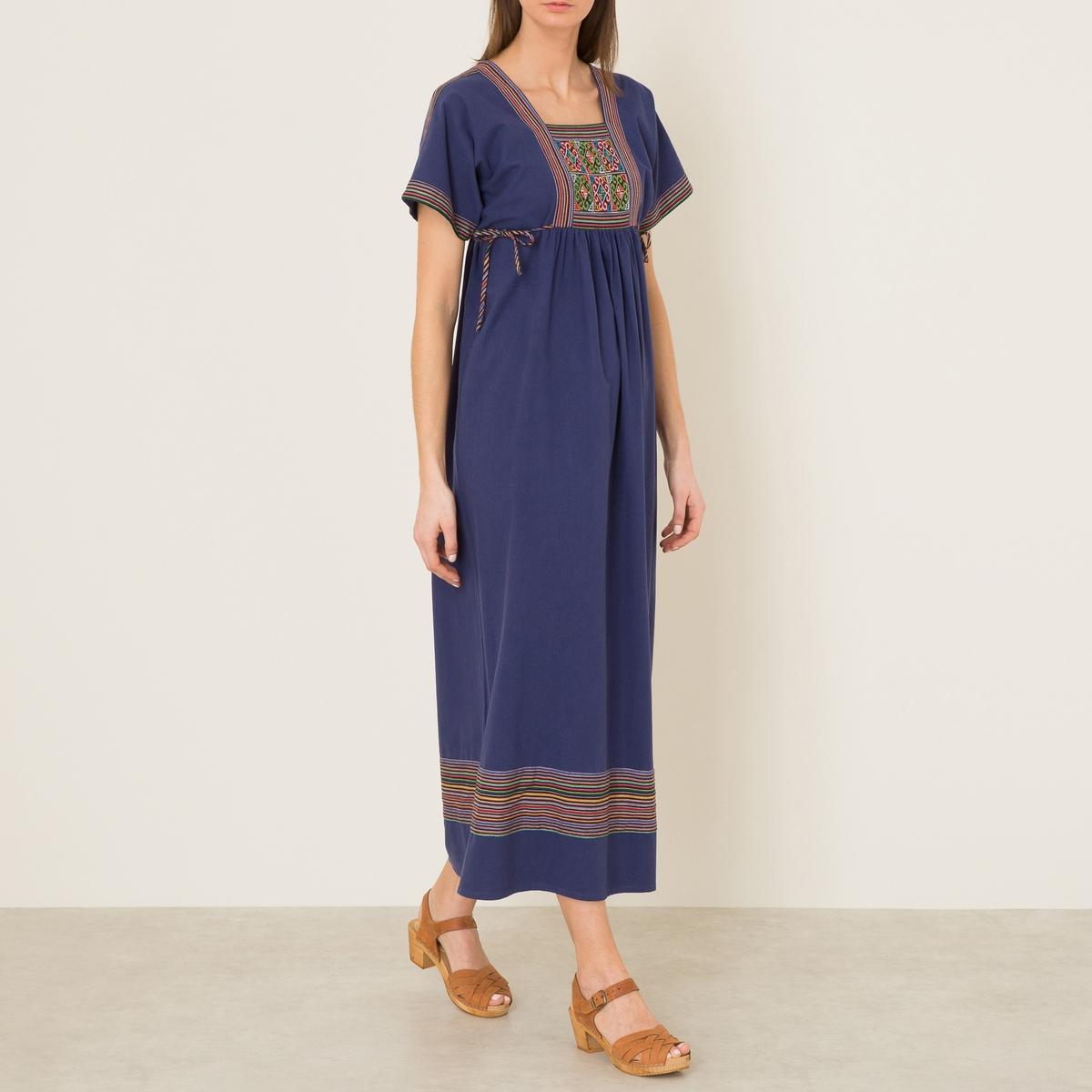 Платье  BLANDINE BISСостав и описание    Материал : 100% хлопок   Марка : S?UR<br><br>Цвет: индиго