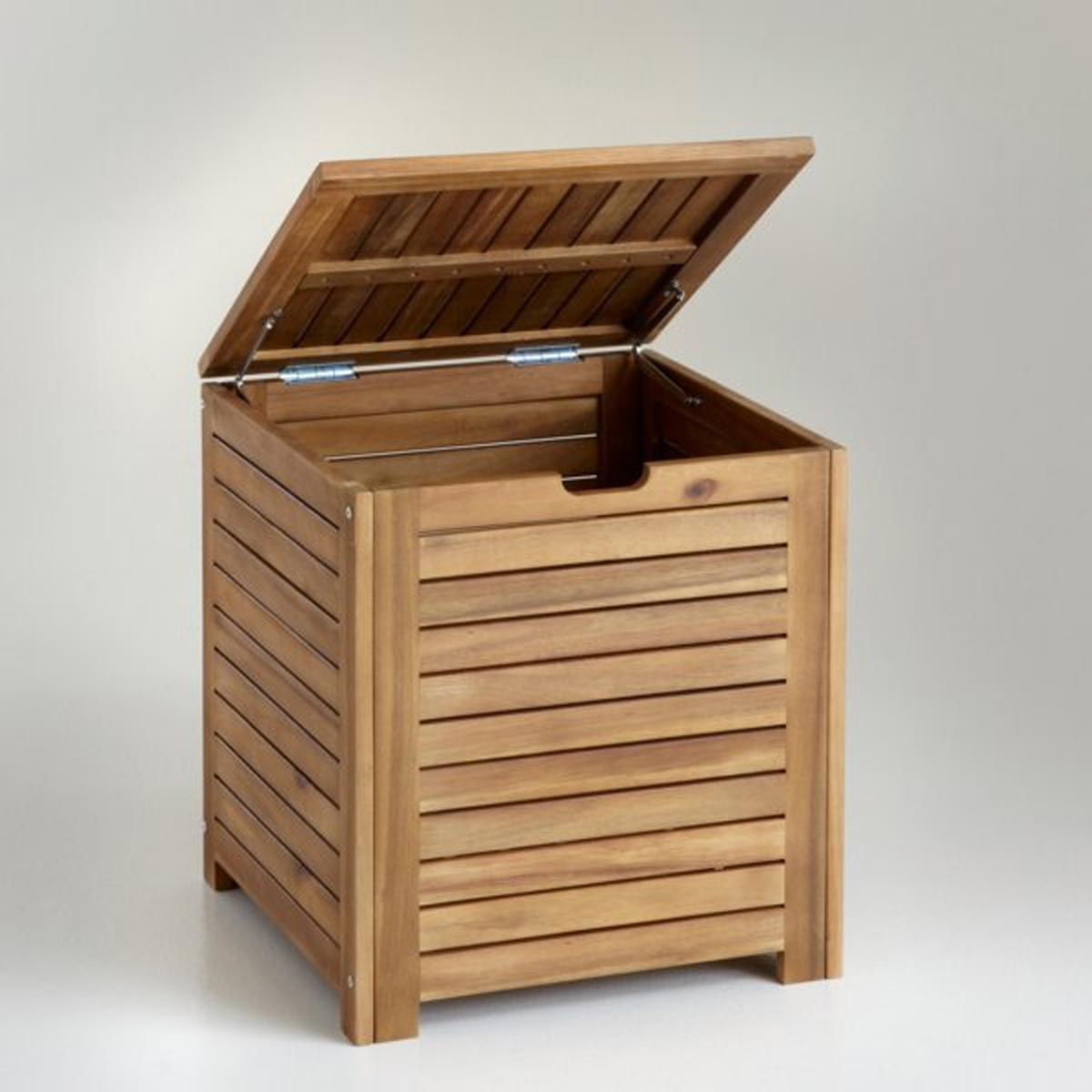Ящик для вещей из акации Дл45 смХарактеристики ящика для вещей:- Из акации под тик- Покрытие олифойЯщик для вещей из акации готовый к сборке согласно инструкции.Размеры :- Общие : 45 x 50 x 45 см<br><br>Цвет: светлое дерево натуральный