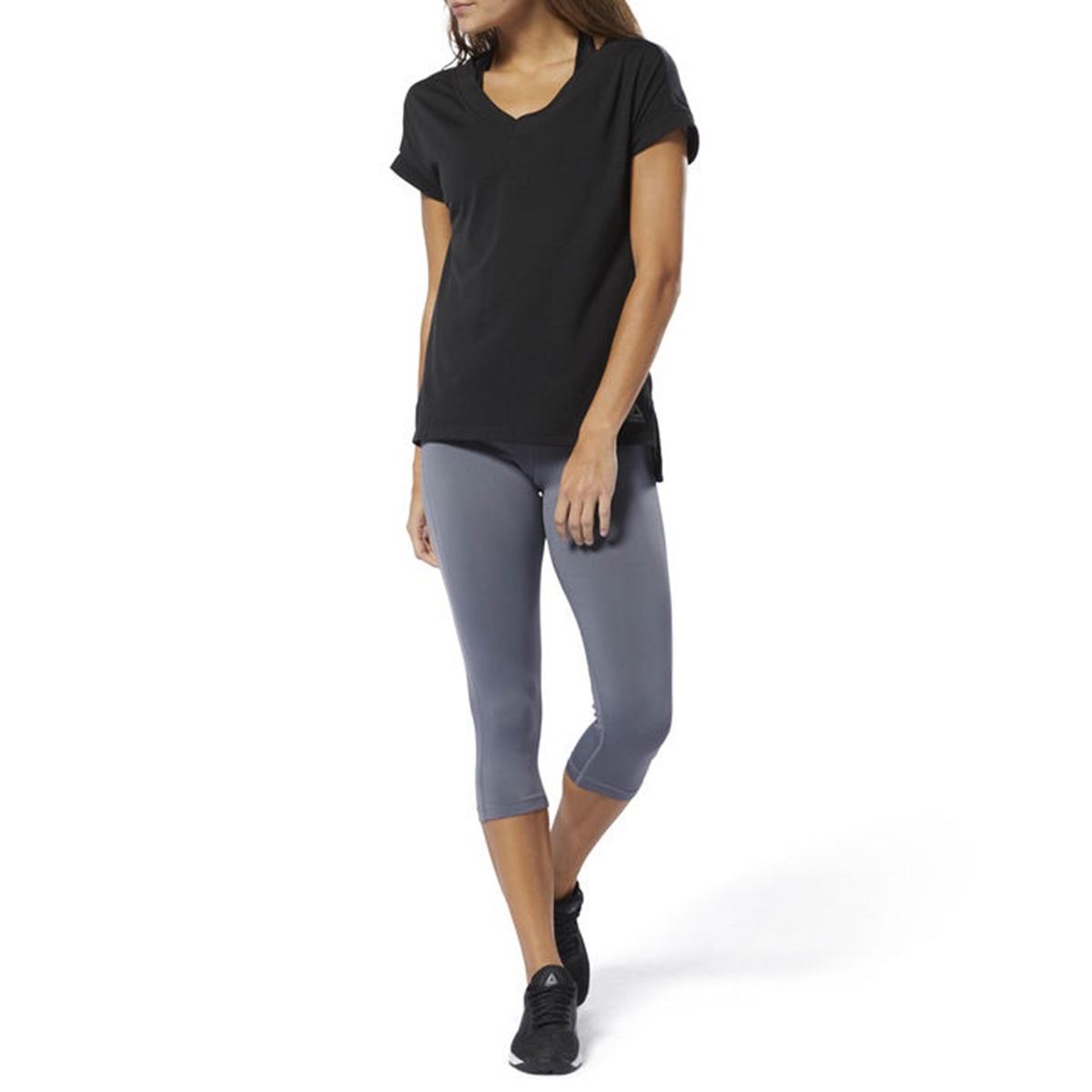 Imagen principal de producto de Camiseta con cuello de pico, Wor Sup Detail - Reebok
