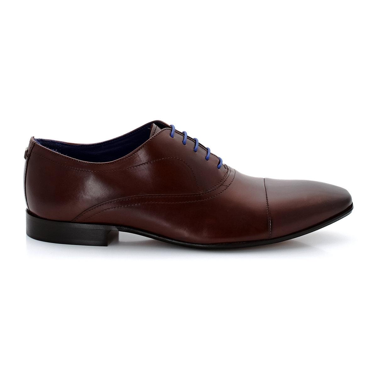 AZZARO Ботинки-дерби из кожи со шнуровкой