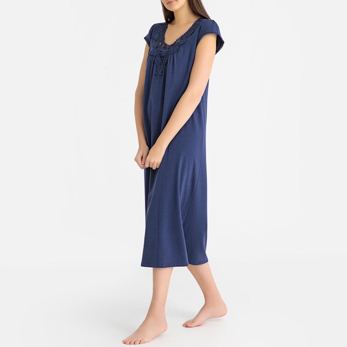 Camisa de dormir em algodão & modal