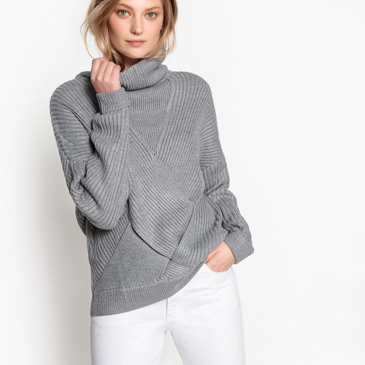 цена на Пуловер-водолазка из тонкого трикотажа