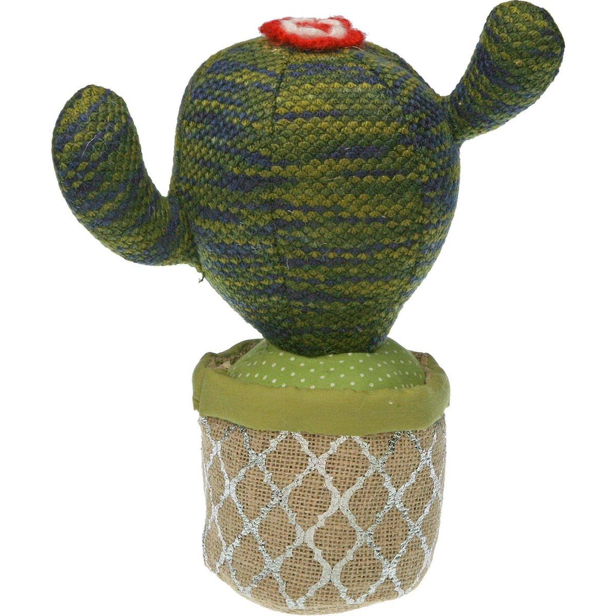 Cale-porte en tissu cactus