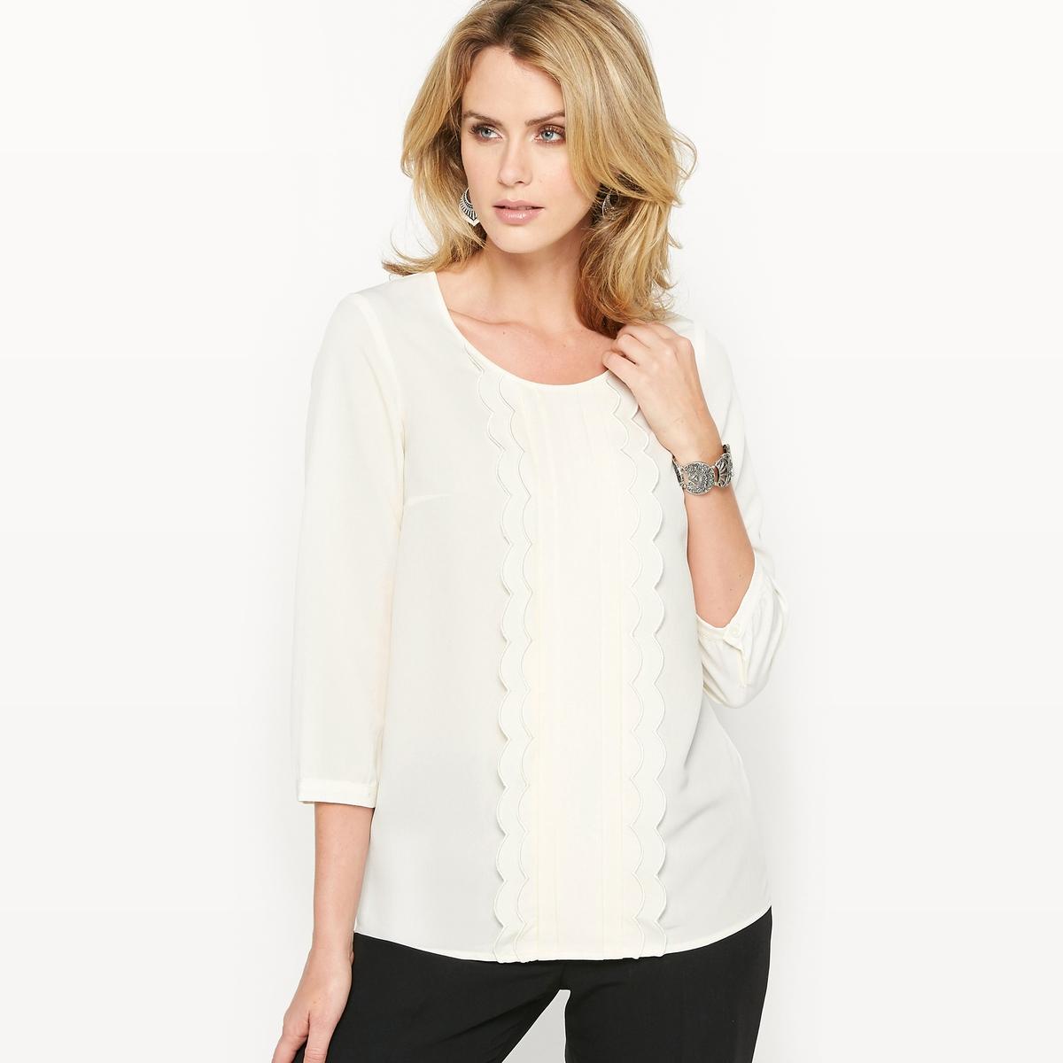 Блузка из крепа chapurin блузка из крепа с контрастной полосой