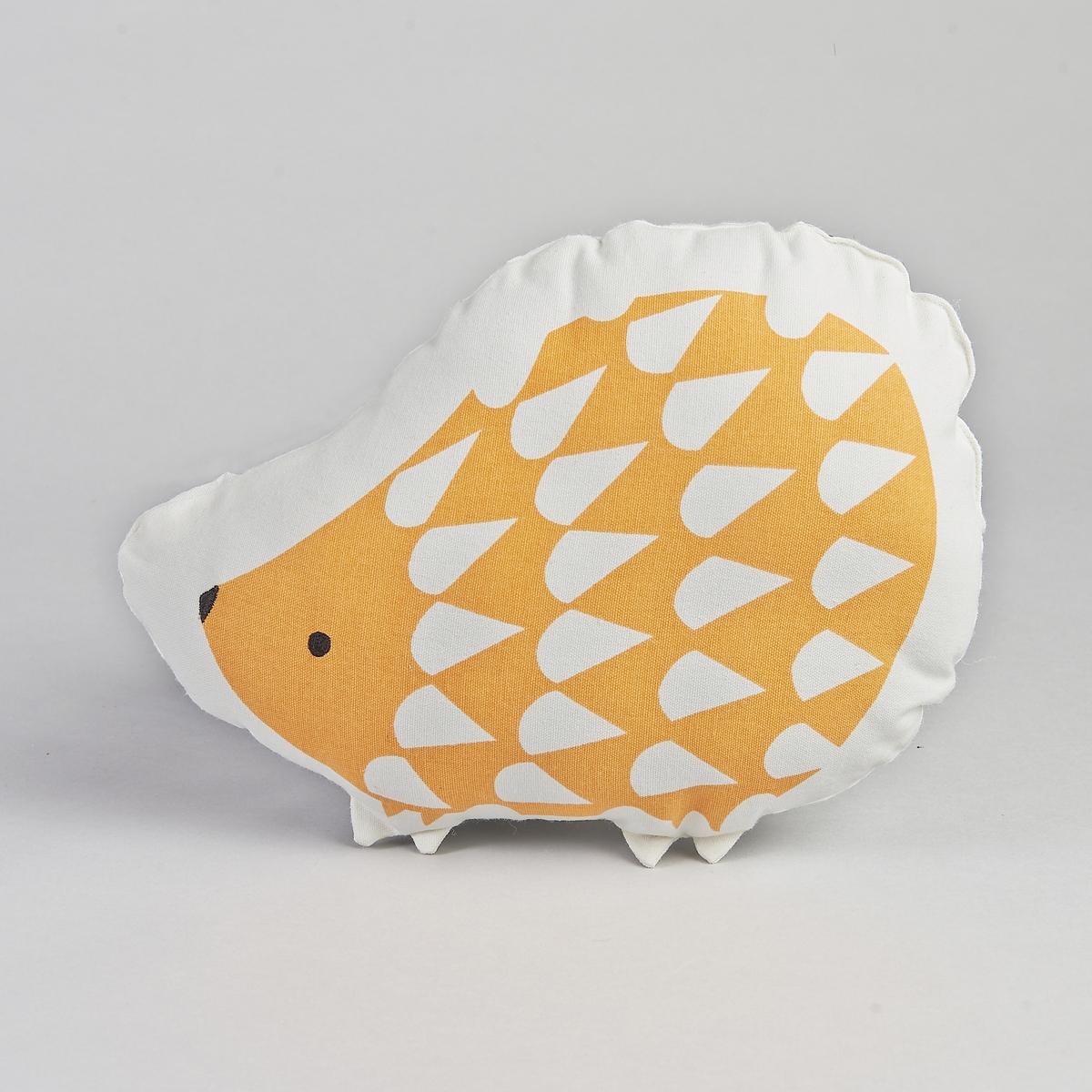 Подушка KirpiКрасивая подушка в виде ежика. Описание :- Чехол 100% хлопка. - Наполнитель из 100% полиэстера. Размер :- 20 x 40 см.<br><br>Цвет: оранжевый