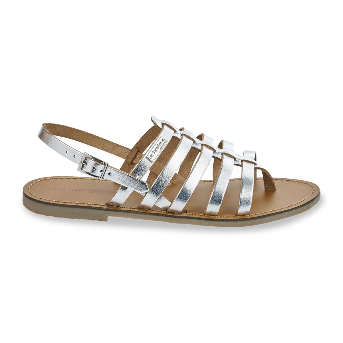 zapatillas Sandalias de piel con tira entre los dedos Herilo