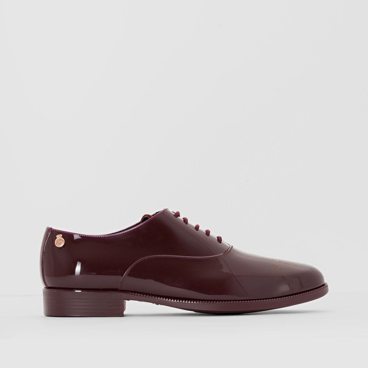 Ботинки-дерби лакированные Jeny ботинки дерби под кожу питона