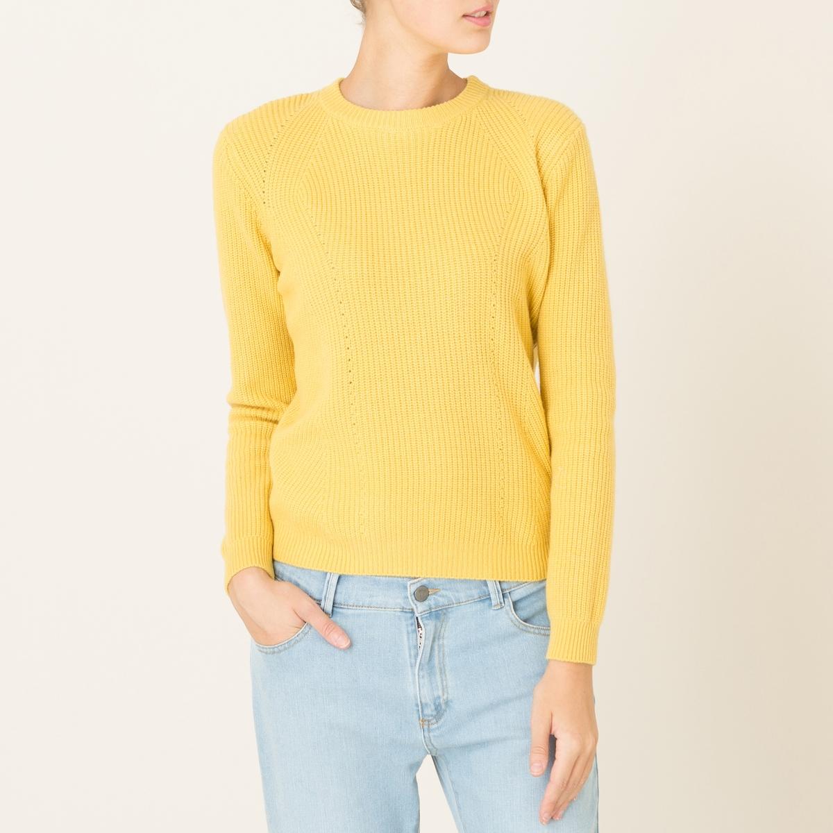 Пуловер TOCADEСостав и описание Материал : 47% шерсти, 38% вискозы, 10% полиамида, 5% кашемираМарка : HARRIS WILSON<br><br>Цвет: желтый,экрю<br>Размер: S.M