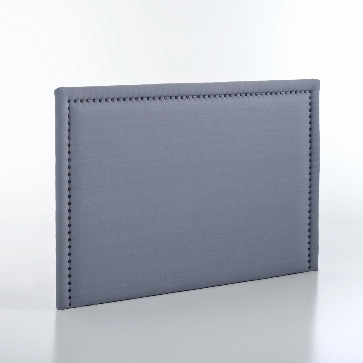 Изголовье LaRedoute Кровати из осветленного льна В115 см Yliana 140 см серый кровати 180 см