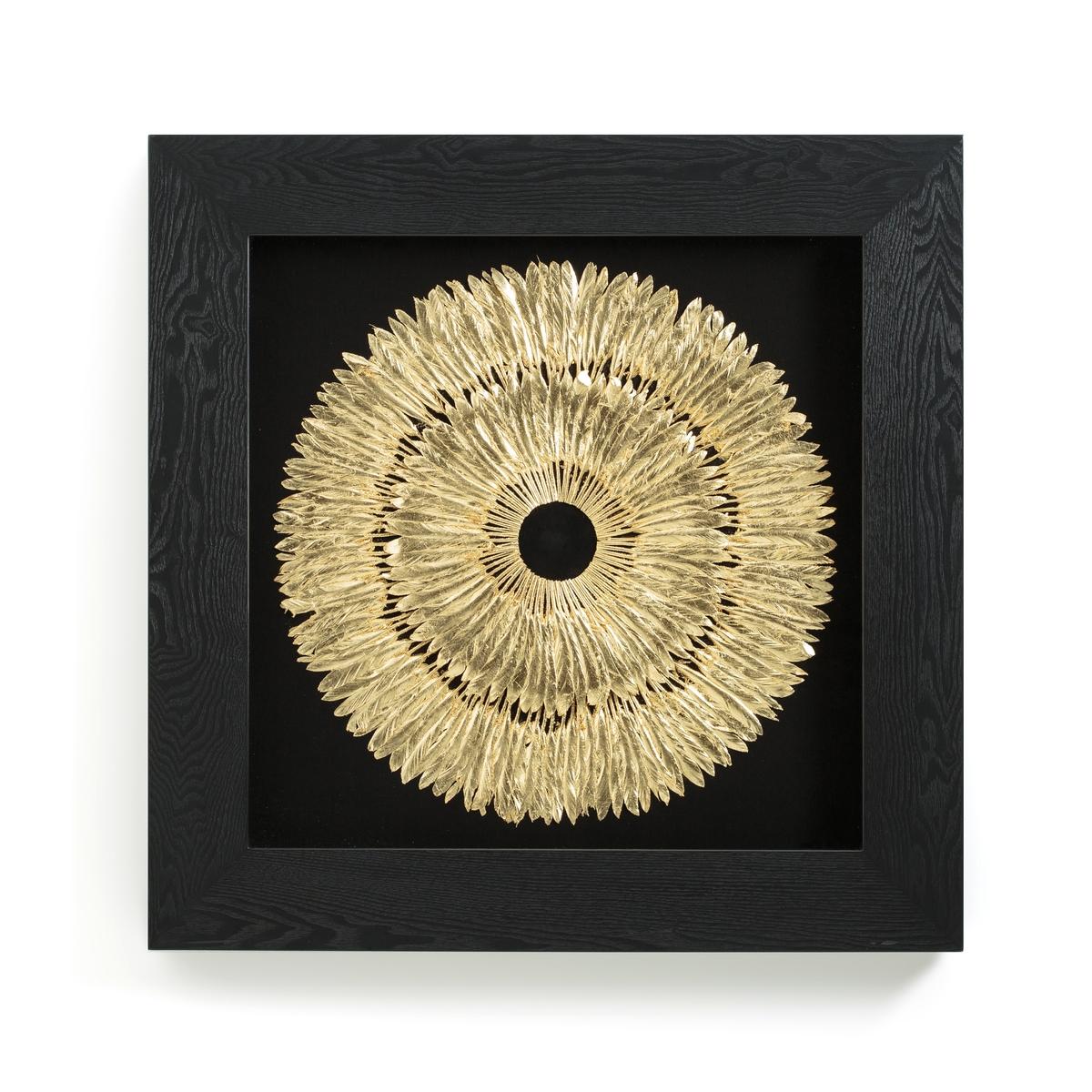 Cornice decorativa con piume Artema