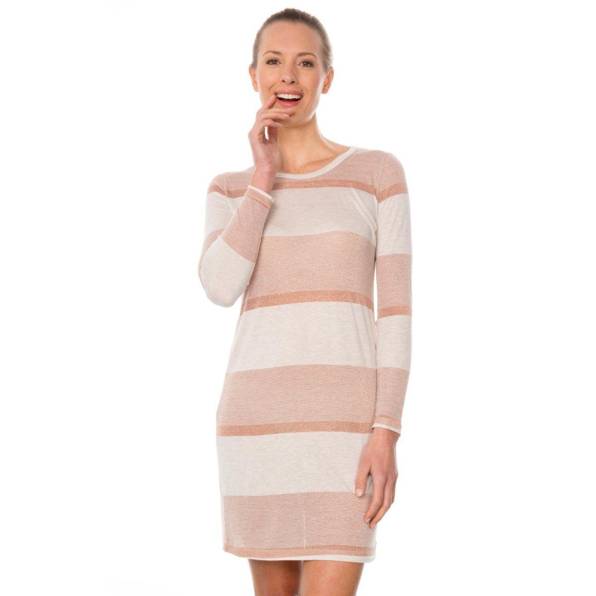 Robe manches longues en Fil textile® ultra doux Belem