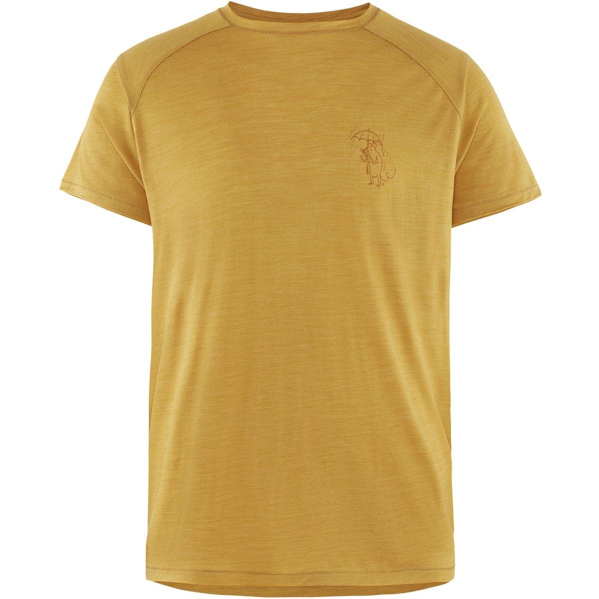 Eir Rain - T-shirt manches courtes Homme - jaune